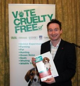 John Leech MP - Vote Cruelty Free Reception