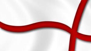 John Leech Flag of St George
