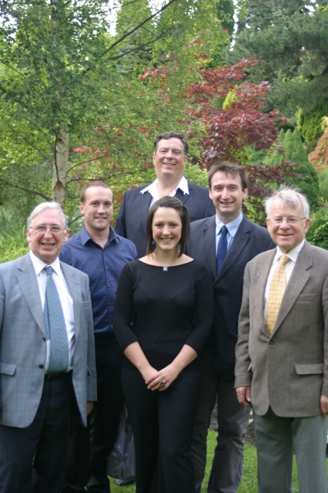 John Leech MP with Didsbury Cllrs Graham Shaw, Andy Taylor, Lianne Williams, Mark Clayton and David Sandiford at Didsbury in Bloom, Fletcher Moss Park