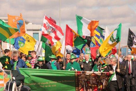 Manchester Irish Festival Parade photo taken by Tony Gibbens