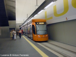 John met with Spanish Transport Minister Elizabeth Bonig and discussed Alicante's Trams
