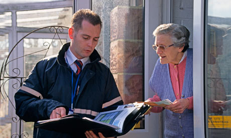 Your rights when someone knocks on your door for Door to door salesman