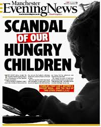John is praising the Manchester Evening News for highlighting the falures of the last government and this in reducing child poverty