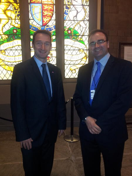 John with Grant at the House of Commons