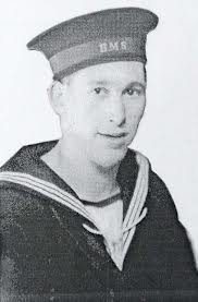 Bob Cowan in his Navy Uniform during World War 2