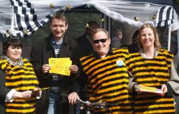 John has been campaigning to protect Bees for years.