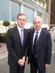 Here is Jeremy Browne with Lib Dem Greater Manchester Crime Commissioner Greater Manchester candidate Matt Gallagher