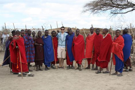 Vitul with the Masaai tribe affected by plans to build a Hunting reserve