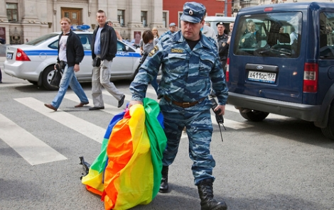 Whilst the UK takes steps towards equality, Russia is introducing new, ant-Gay laws