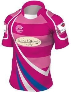 Old Bedians specially commissioned pink kit