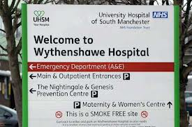 £29million per year is being spent on PFI interest payments by Wythenshawe Hospital Trust.